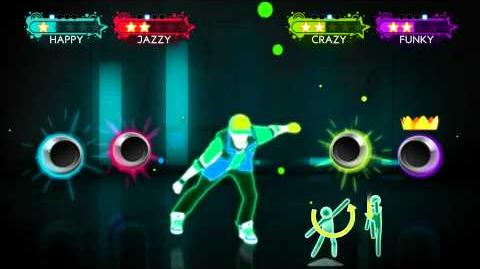 Just Dance Best Of - Airplanes Wii Footage