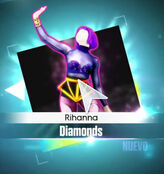Diamonds Menu 1