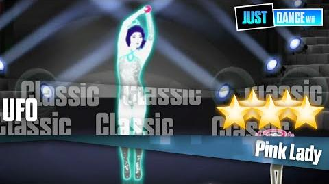 UFO - Pink Lady Just Dance Wii