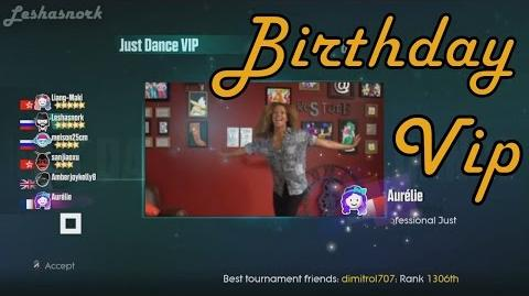 Just Dance 2015 VIP - Birthday - 5 Stars.