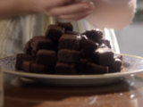 Single Serving Cinnamon Brownie Bites