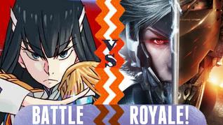 Battle Royale Satsuki Kiryuin vs Raiden