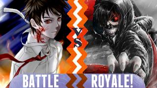 Battle Royale Tsukune Aono vs Kaneki Ken