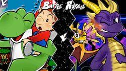 Yoshi VS Spyro Updated