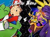 Yoshi VS Spyro