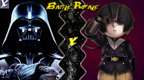 Darth Vader VS Masked Man
