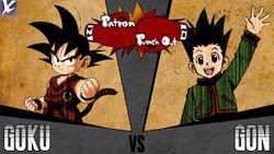PPO Gon Vs Goku
