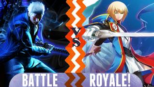 Battle Royale Vergil vs Jin Kisaragi