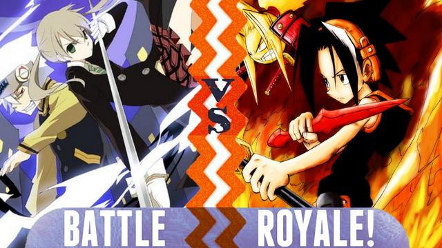 File:Battle Royale Maka Albarn vs Yoh Asakura.png