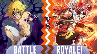 Battle Royale Meliodas vs Natsu
