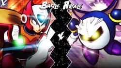 Zero VS Meta Knight BR