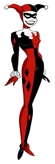 Harley quinn bruce timm style new look by noahlc-d9tfhre