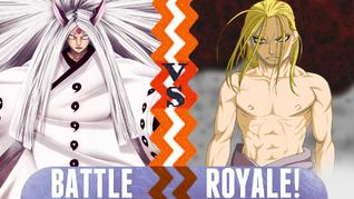 Battle Royale Kaguya Otsutsuki vs Father