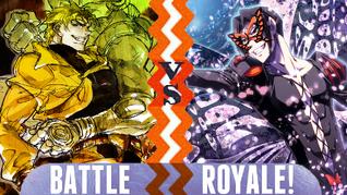 Battle Royale Dio Brando vs Papillon