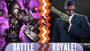 Battle Royale Reaper vs The Spy