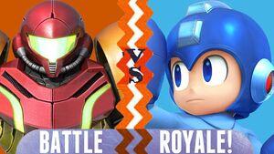 Samus vs Mega Man BR