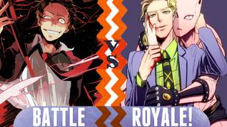 Battle Royale Tohru Adachi vs Yoshikage Kira
