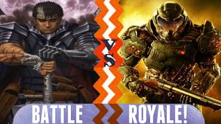 Battle Royale Guts vs Doomguy