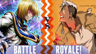 Battle Royale Kurapika vs Scar