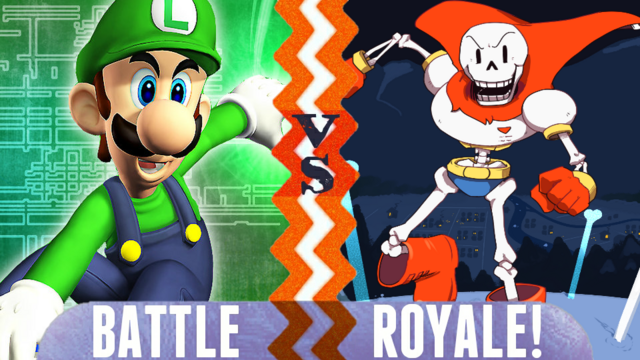 File:Battle Royale Luigi vs Papyrus.png
