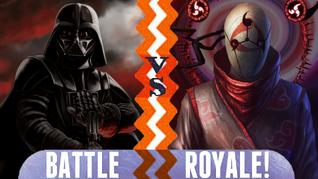 Battle Royale Darth Vader vs Obito Uchiha