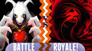 Battle Royale Asriel Dreemurr vs Giygas