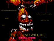 It will die.
