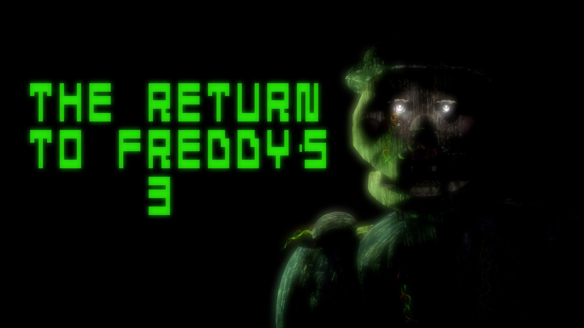 The Return to Freddy's 3 | The Return to Freddy's Wikia | FANDOM