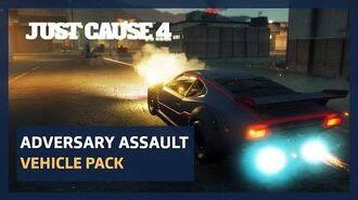 Just Cause 4 Black Market - Adversary Assault Vehicle Pack