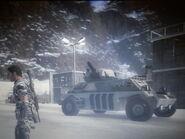 GV-104 Razorback winter camouflage