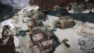 Pekan Batang Kelepek area under bridge