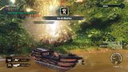 SS Borracho blowing up a Dia de Muertos skull