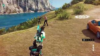 Just Cause 3 unused police NPC oreview