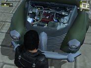 Hurst Buckaroo, Guerrilla version, (patrol), view of the Engine.