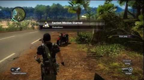 Just Cause 2 - Faction Mission - Shakedown