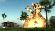 JC2 beta (hut and explosion)