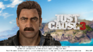 JC3 Rico with mustache