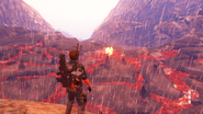 JC3 lava field and Di Ravello crash site