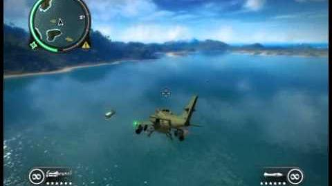 Just Cause 2 Invisible rotors?