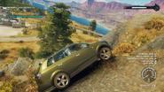 Prisa Viento SUV (off-roading on steep rocks)