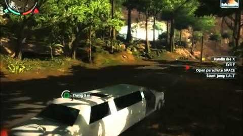 Just Cause 2 Faction mission Political debate
