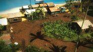 Kampung Nelayan-Nelayan overhead view