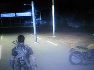 Light pole glitch