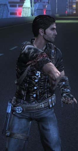 Rico's arm glitch