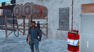 Explosive barrels in JC3