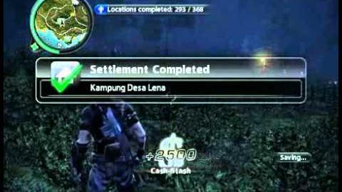 Just Cause 2 - Kampung Desa Lena - civilian village