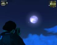 JC1 moon nearing morning