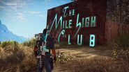 JC3 logo of the crashed Mile High Club