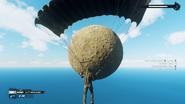 JC4 moon at sea (parachuting)