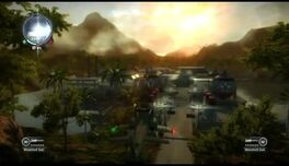 Just Cause 2- settlement completion- Pemainan Racun Facility 016